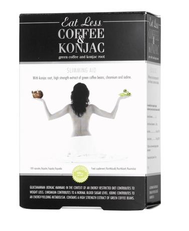 Coffee & Konjac, 180 таблеток